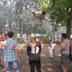 Показові виступи грицівських турнікменів «Street Workout»