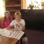 Ірина Панфілова з донькою